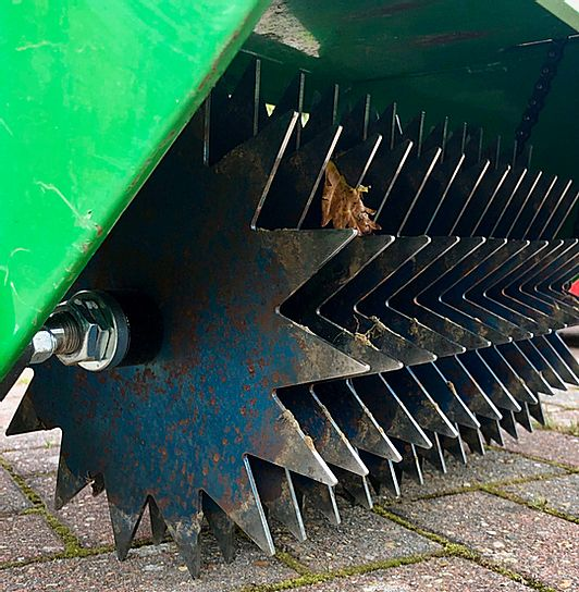 One of our machines used to prepare the soil for seed
