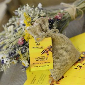 Beebombs single pack with wildflower bunch